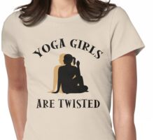Very Funny Yoga T-Shirt Womens Fitted T-Shirt