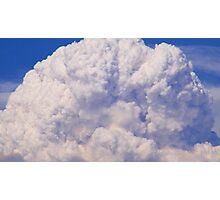 California Station Fire Cloud Photographic Print