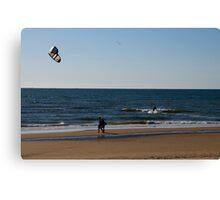 Holland Beachfront Canvas Print
