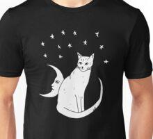 Moon Cat T-Shirt  Unisex T-Shirt