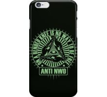 Anti NWO iPhone Case/Skin