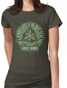 Anti NWO Womens Fitted T-Shirt