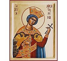 St Katherine the Great Martyr Photographic Print