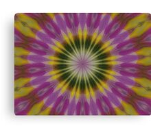 Lilac and Yellow Canvas Print