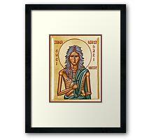 St Mary of Egypt Framed Print