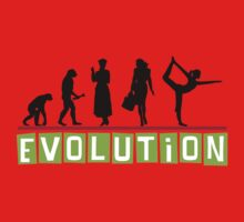 "Yoga ""Evolution"" T-Shirt Kids Clothes"