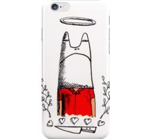 frog and knife iPhone Case/Skin