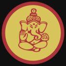 Yoga Ganesh T-Shirt by T-ShirtsGifts