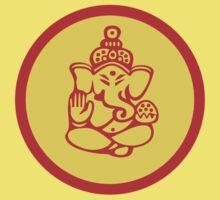 Yoga Ganesh T-Shirt Baby Tee