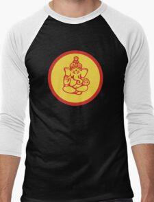 Yoga Ganesh T-Shirt Men's Baseball ¾ T-Shirt