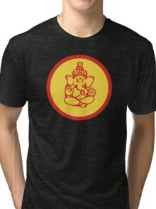 Yoga Ganesh T-Shirt Tri-blend T-Shirt