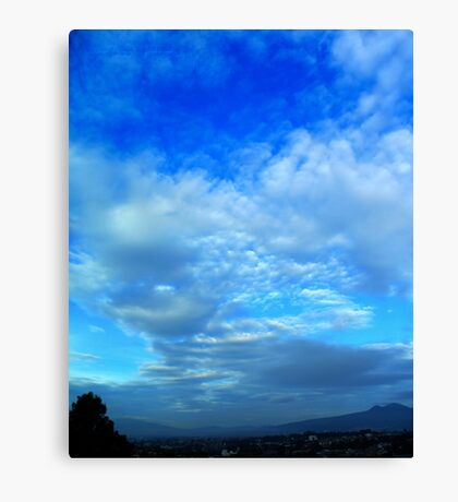 ©HCS Sky in Blue Canvas Print