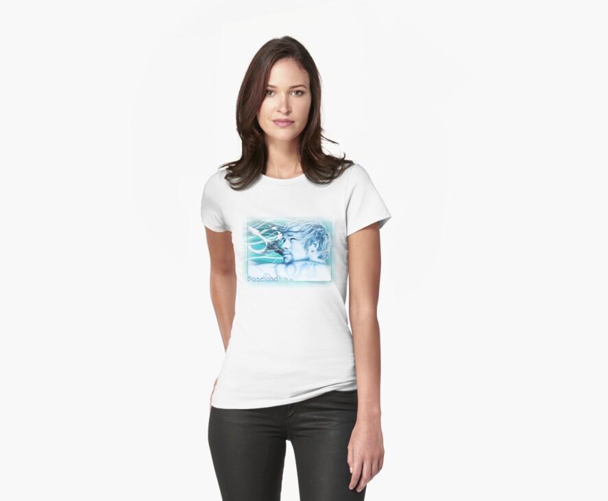 Poseidon t-shirt by Ivy Izzard