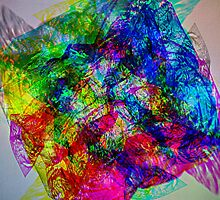 Cellophane color explosion against the light by Randomthings