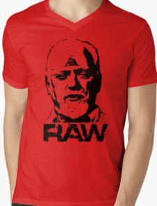 RAW - Robert Anton WIlson Mens V-Neck T-Shirt
