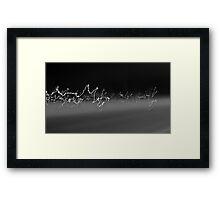 Passing Lights Framed Print