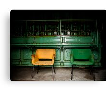 Industrial Silence #2 Canvas Print
