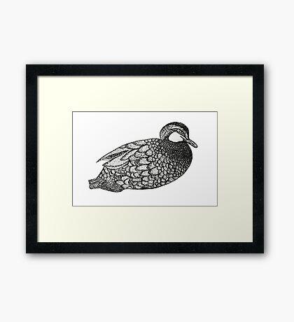 bad ass mother ducker Framed Print