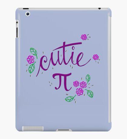 Cutie Pi (Purple) iPad Case/Skin