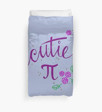 Cutie Pi (Purple) Duvet Cover