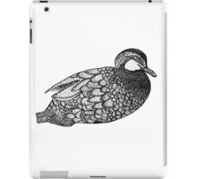 bad ass mother ducker iPad Case/Skin