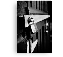 All Locked Up Canvas Print