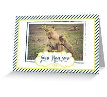 You're Rawr-some Greeting Card