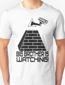 Anti New World Order - Big Brother Is Watching T-Shirt