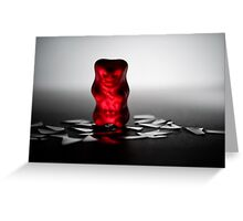 Gummy Bear Photography - The Little Things ...  Greeting Card