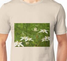Star Of Bethlehem Wildflower - Grass Lily - Ornithogalum umbellatum Unisex T-Shirt