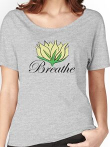 Yoga Breathe Women's Relaxed Fit T-Shirt