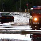 Floods in Tewkesbury July 2007 by Lynn Ede