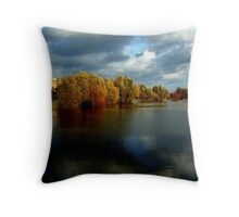 Tewkesbury Abbey, Gloucestershire, England Throw Pillow