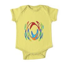 Dance In Color One Piece - Short Sleeve