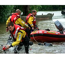 Rescue Workers Photographic Print