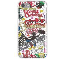 Broadway Shows collage iPhone Case/Skin