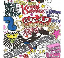 Broadway Shows collage by Colormecrazy