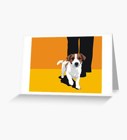 Casmara/JR Tallyho Tootsie Greeting Card