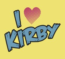 I heart KIRBY by Scott Simpson