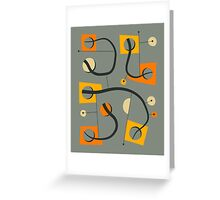 OBJECTIFIED 9 Greeting Card