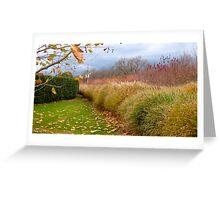 Hedge Greeting Card