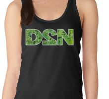 "GiShWhes D2N ""Death to Normalcy"" Kale Tank--White (Support Random Acts Charity!) Women's Tank Top"