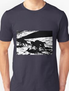 Sled Dogs in Prescott Park, Portsmouth, NH Unisex T-Shirt