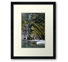 Burke River. Framed Print