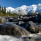 Kaikoura Ranges by Michael Treloar