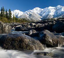 Kaikoura Ranges by Michael Treloar