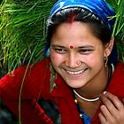 Gadhwali Woman by RajeevKashyap