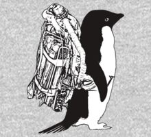Jet Pack Penguin One Piece - Long Sleeve