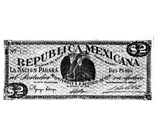 mexican vintage bill Photographic Print