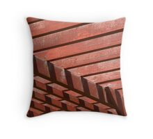 temple angles Throw Pillow